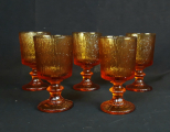 Lot de 5 verres vintages CODEC n°6354