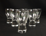 Lot de 6 verres vintages PIERLANT n°6730