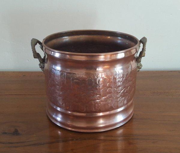 Ancien cache pot en cuivre n 5905 d coration tous - Cache pot cuivre ...