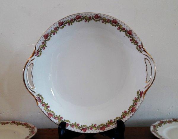 Ancien service a gateaux porcelaine de limoges n 6525 - La table du bistrot limoges ...