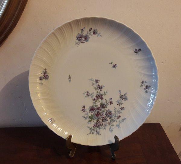Plat limoges bernardaud gabrielle n 7870 vaisselle for Linge de maison limoges