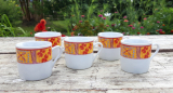 Lot de 5 tasses a café n°9148