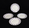 Lot de 4 assiettes a dessert Basque n°2607