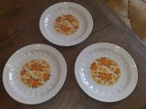 Lot de 3 assiettes a dessert vintages Seltmann n°951